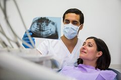 Dental imaging will identify issues that may be occurring below the surface
